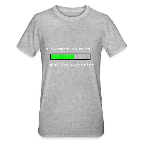 chargement allaitement - T-shirt polycoton Unisexe
