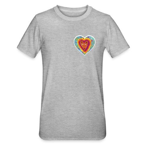 Foxy Heart - Unisex Polycotton T-Shirt