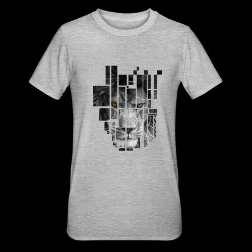 Pixel Lion Tattoo Inspire - Unisex Polycotton T-Shirt