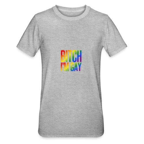 B**** I'M GAY - Camiseta en polialgodón unisex