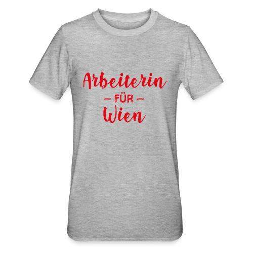 Arbeiterin für Wien - Unisex Polycotton T-Shirt