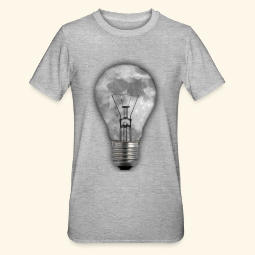 moon bulb - Camiseta en polialgodón unisex