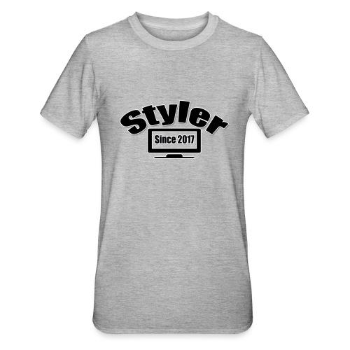 Styler Design T-Shirt Vrouwen - Unisex Polycotton T-shirt