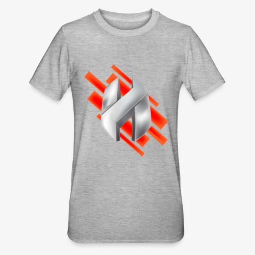 Abstract Red - Unisex Polycotton T-Shirt