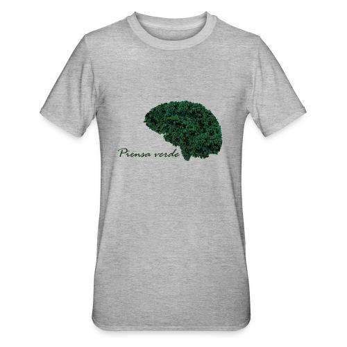 Piensa verde - Camiseta en polialgodón unisex