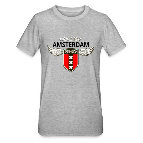 Amsterdam Netherlands - Unisex Polycotton T-Shirt