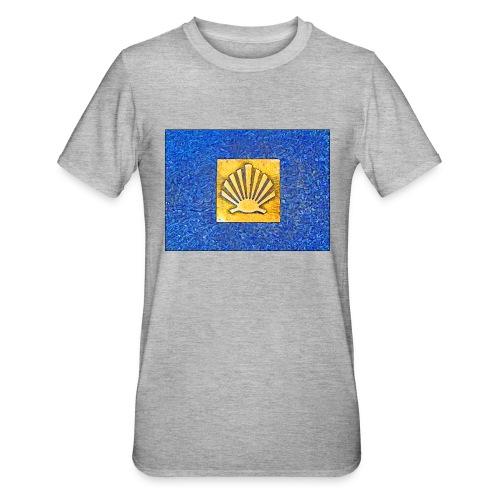 Scallop Shell Camino de Santiago - Unisex Polycotton T-Shirt