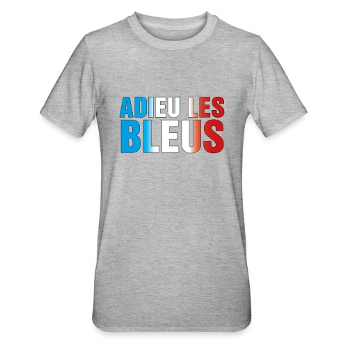 Adieu les bleus - Unisex Polycotton T-Shirt