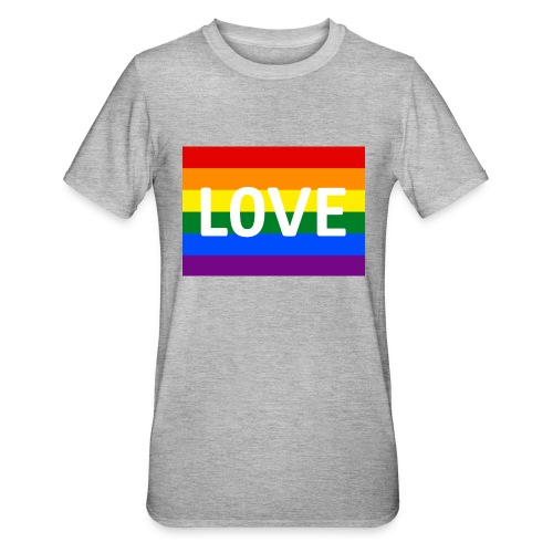 LOVE SHIRT - Unisex polycotton T-shirt