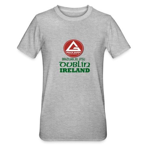 Gracie Barra Dublin Gaelic Celtic Font PNG - Unisex Polycotton T-Shirt