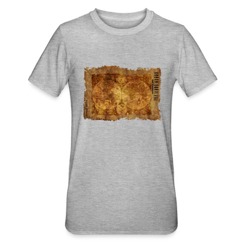map of the world 2241469 1920 - Unisex Polycotton T-Shirt