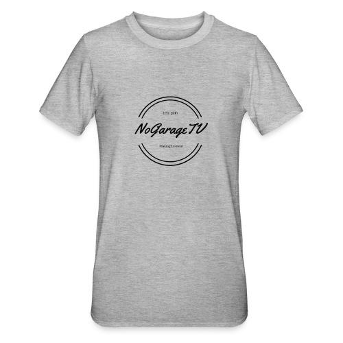 NoGarageTV (3) - Unisex polycotton T-shirt