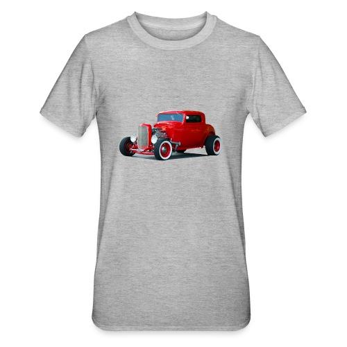 Hot rod red car - Unisex Polycotton T-shirt