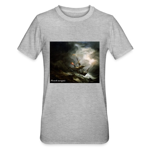 T-shirt French marquis Storm - T-shirt polycoton Unisexe