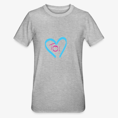 Mon cœur c'est Toi - T-shirt polycoton Unisexe