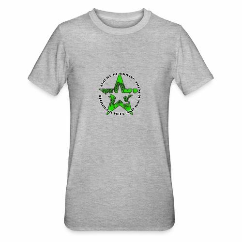 ra star slogan slime png - Unisex Polycotton T-Shirt