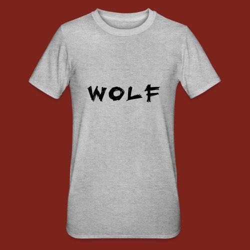 Wolf Font png - Unisex Polycotton T-shirt