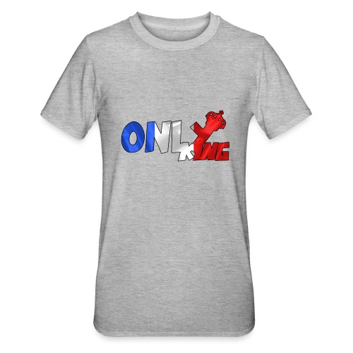 Logo ONLY KING edition francaise - T-shirt polycoton Unisexe