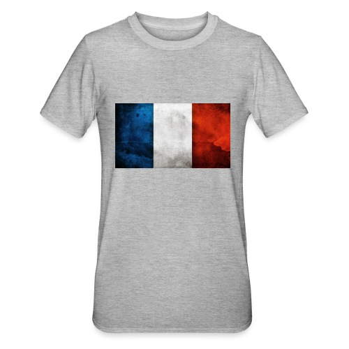 France Flag - Unisex Polycotton T-Shirt