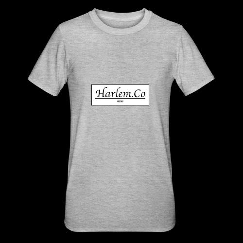 Harlem Co logo White and Black - Unisex Polycotton T-Shirt