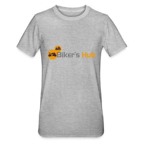 Biker's Hub Small Logo - Unisex Polycotton T-Shirt