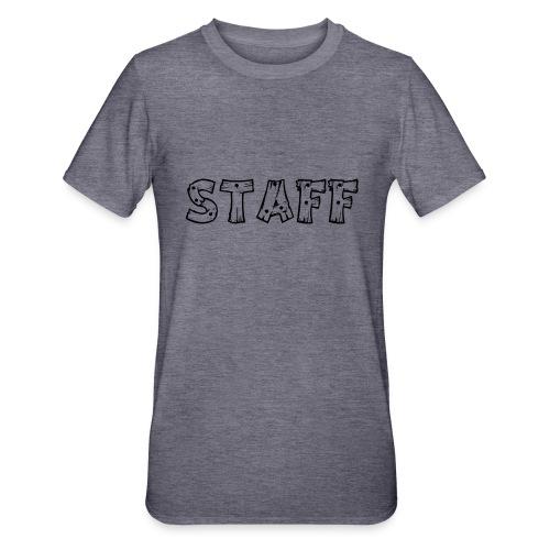 STAFF - Maglietta unisex, mix cotone e poliestere