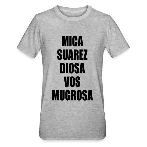 Polo Mica Suarez Diosa Vos Mugrosa - Camiseta en polialgodón unisex