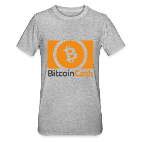 Bitcoin Cash - Unisex polypuuvilla-t-paita