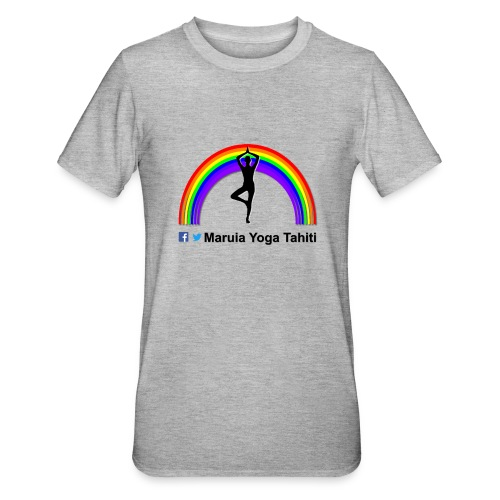 Logo de Maruia Yoga Tahiti - T-shirt polycoton Unisexe