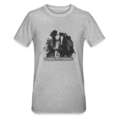 horse2 - Koszulka unisex z polibawełny