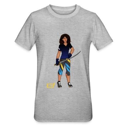 Sabre fencer - Unisex Polycotton T-Shirt