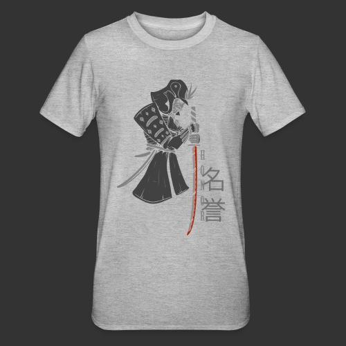 Samurai Digital Print - Unisex Polycotton T-Shirt