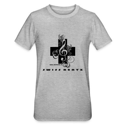Swiss Beatz Logo with L - Unisex Polycotton T-Shirt