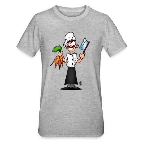 The vegetarian chef - Unisex Polycotton T-Shirt