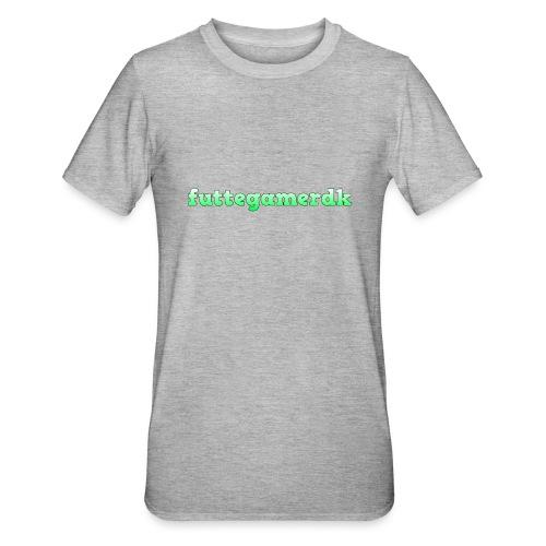 futtegamerdk trøjer badge og covers - Unisex polycotton T-shirt