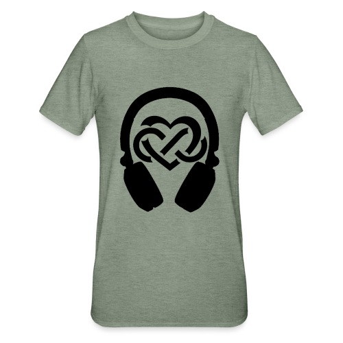 Liefde voor muziek - Unisex Polycotton T-shirt