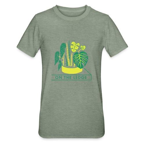 On The Ledge green logo print - Unisex Polycotton T-Shirt