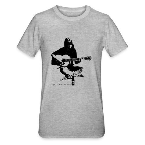 Cynthia Janes guitar BLACK - Unisex Polycotton T-Shirt