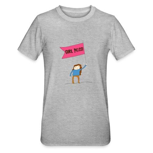 Gurl boss - Camiseta en polialgodón unisex