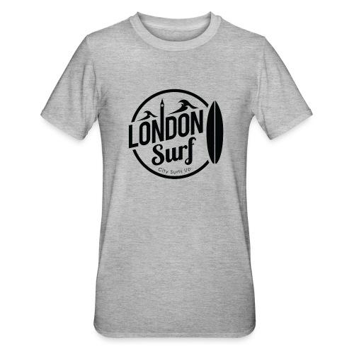 London Surf - Black - Unisex Polycotton T-Shirt