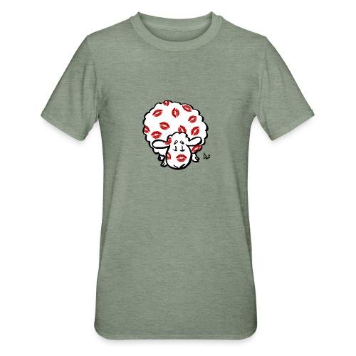 Kuss Mutterschaf - Unisex Polycotton T-Shirt