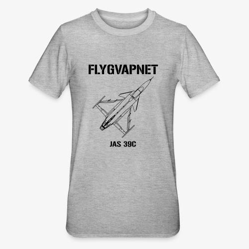 Flygvapnet JAS 39C - Polycotton-T-shirt unisex