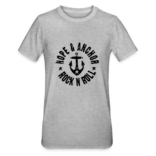 Hope & Anchor - Rock´n´Roll - Unisex Polycotton T-Shirt