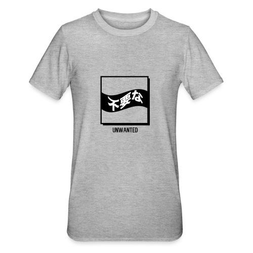 UNWANTED Japanese Tee White - Unisex Polycotton T-Shirt