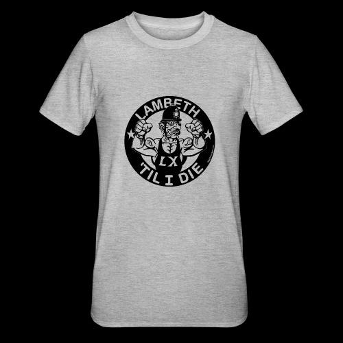 LAMBETH - BLACK - Unisex Polycotton T-Shirt