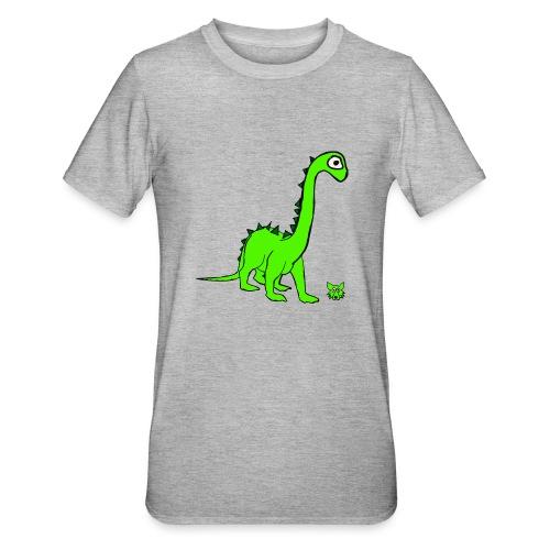 dinosauro - Maglietta unisex, mix cotone e poliestere