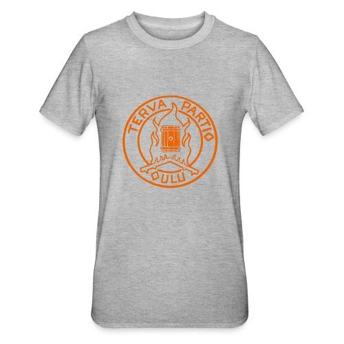 Tervapartio_oranssi - Unisex polypuuvilla-t-paita