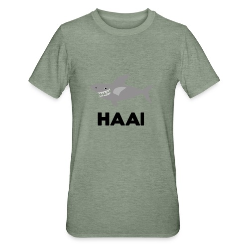 haai hallo hoi - Unisex Polycotton T-shirt