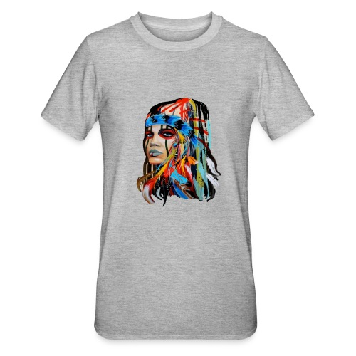 Pióra i pióropusze - Koszulka unisex z polibawełny
