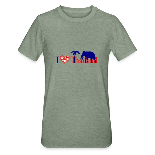 I love Thailand - Unisex Polycotton T-Shirt